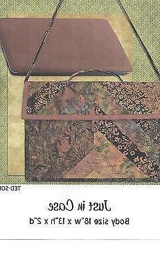 Just in case laptop quilt pattern by 2 Easy Designs