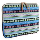 KAYOND Bohemian Laptop Cover Soft Canvas Bag for Laptop Note