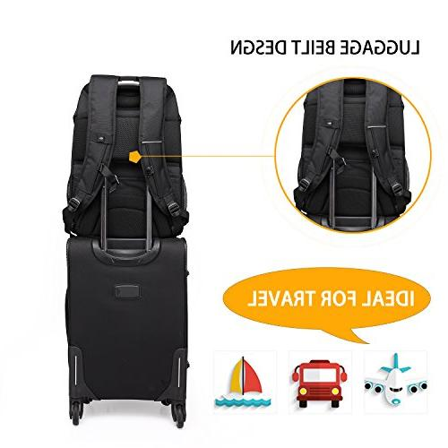 Laptop Inch Computer with USB Port Hiking Checkpoint-Friendly Backpack Fits Inch for Men/Women / Business