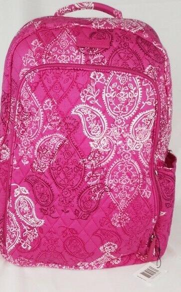 laptop backpack sleeve stamped paisley