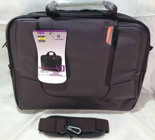 Laptop Bag BRINCH Fabric Laptop Messenger Shoulder