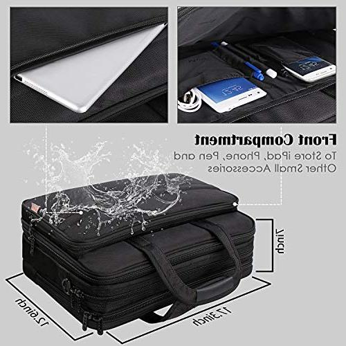 17 Laptop Bag, Large Men Women, Case Shoulder Bag, Waterproof Carrying Case 17 inch Computer Bag Ultrabook