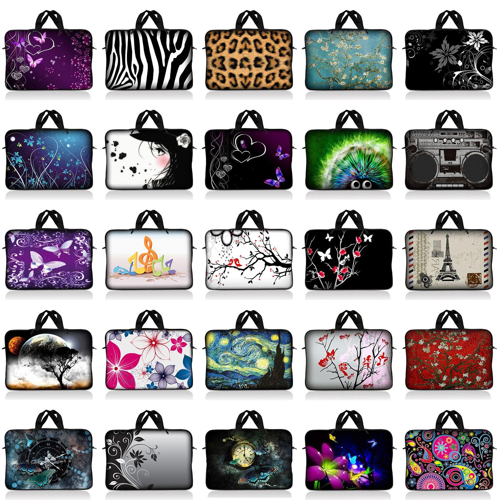 Neoprene Sleeve Laptop Case Bag Fit 10 17.4 inch