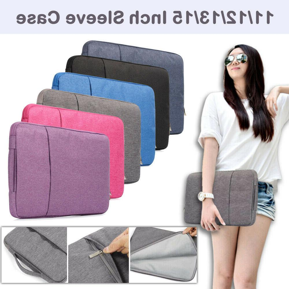 Pouch Sleeve Case Laptop Bag For MacBook AirPro Retina Lenov