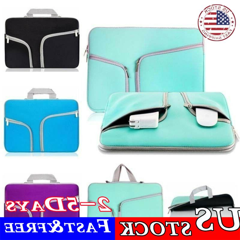 Laptop Bag Sleeve Case Notebook Cover Pouch For HP Dell Leno