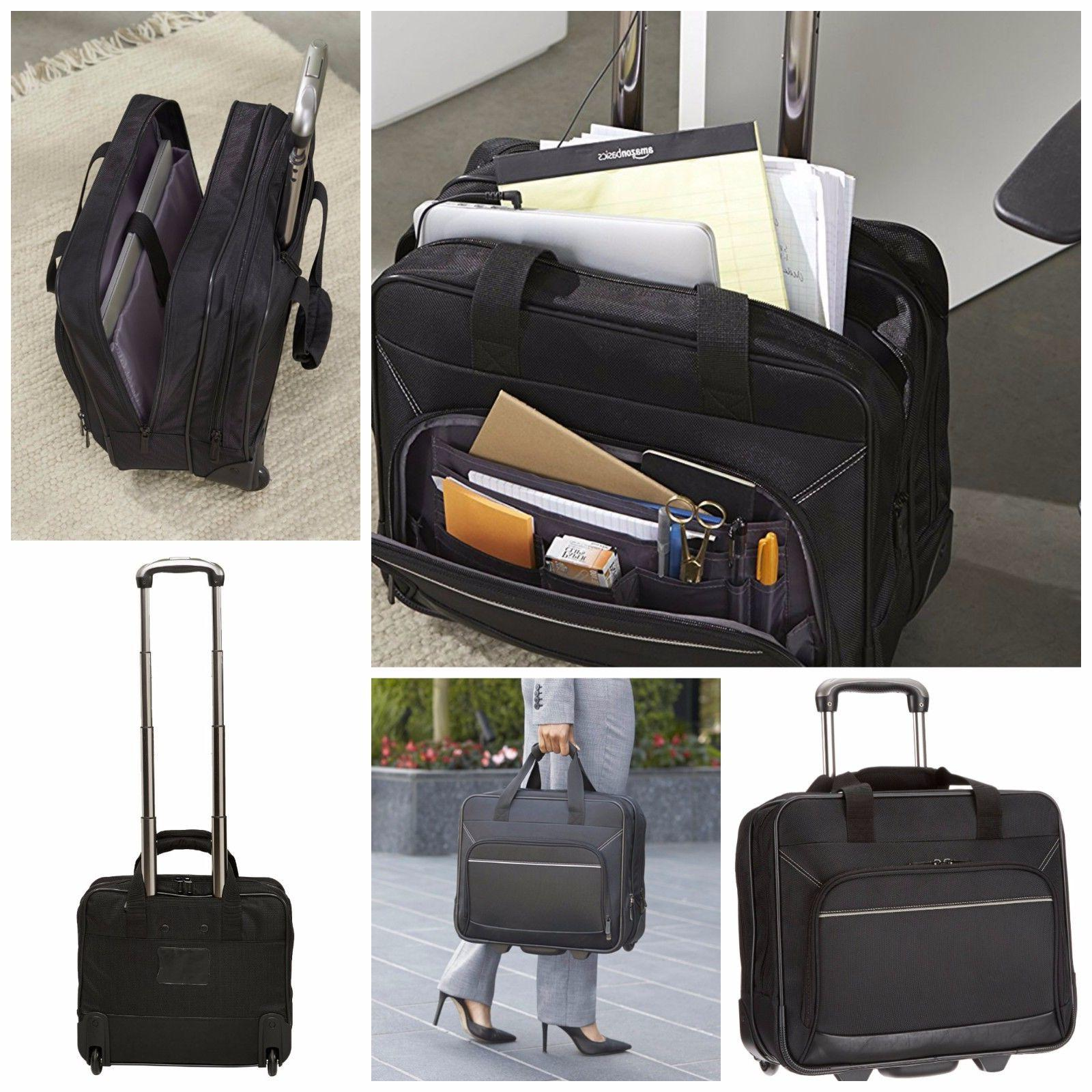 Laptop Bags With Wheels Briefcase Rolling Laptop Case 17 Inc