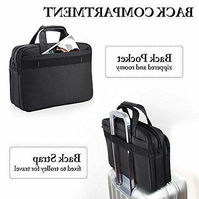 Laptop Inch Briefcase Computer Tablet Messenger