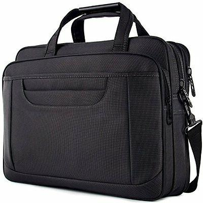 Laptop 15.6 Briefcase Messenger with Shoulder Strap