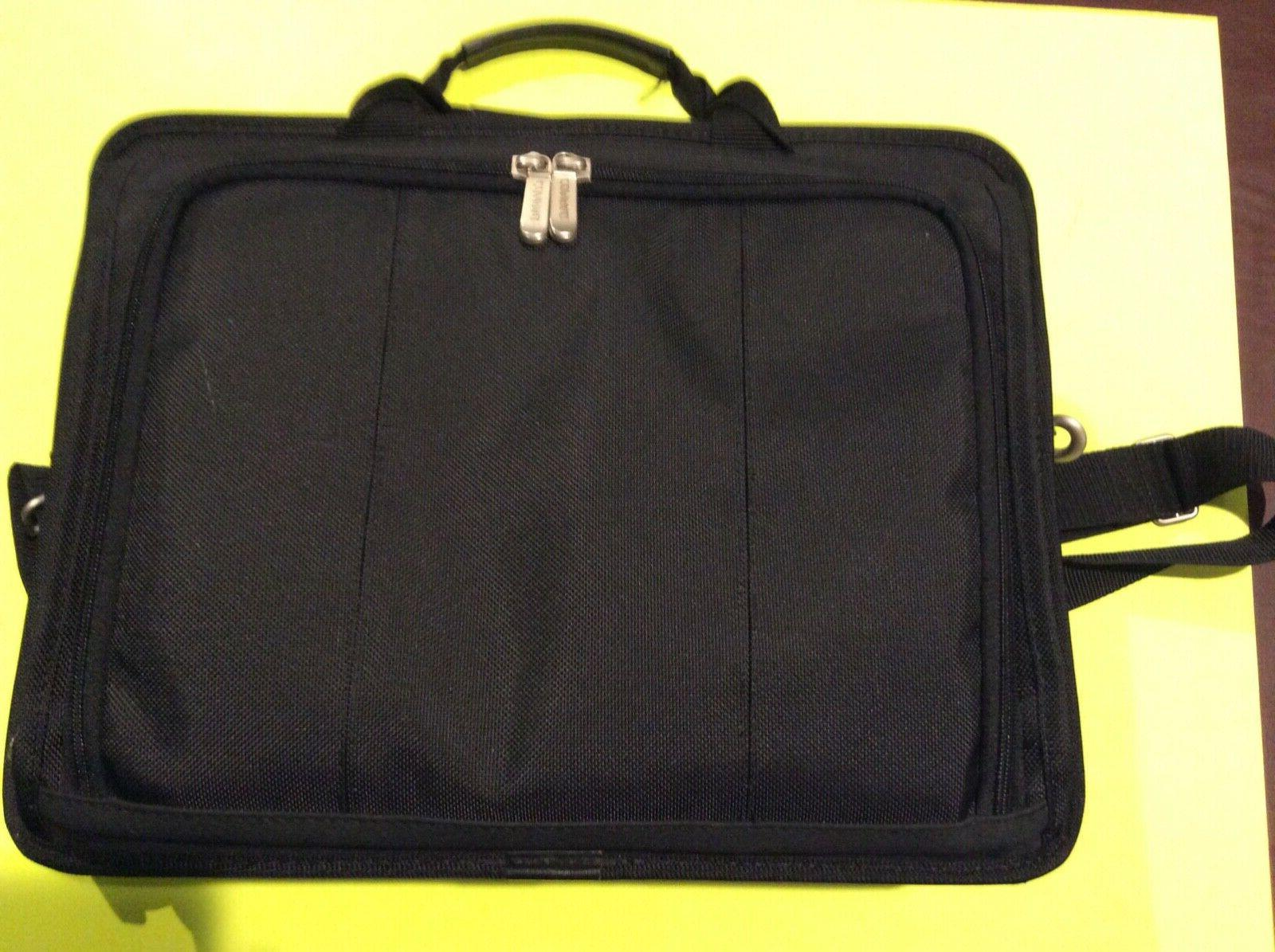laptop carrying case 16 inch black computer