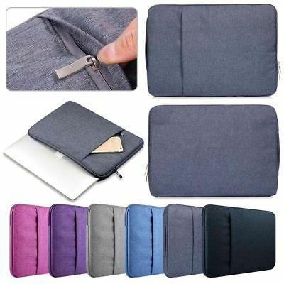"""Universal Denim Laptop Sleeve Case Cover Pouch Bag For 11"""" 1"""