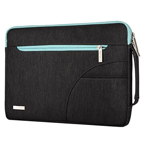 Laptop Mosiso 13-13.3 Notebook Computer MacBook / Sony / Toshiba / Samsung / / Acer / / Shoulder Bag Handbag, Black
