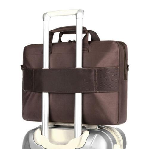 """17"""" 17.3"""" Men Laptop Bag Briefcase Messenger Case Shoulder"""