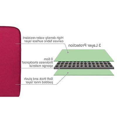 Arvok laptop case red inches sleeve bag