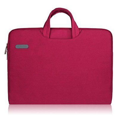 laptop case wine red 16 inches sleeve