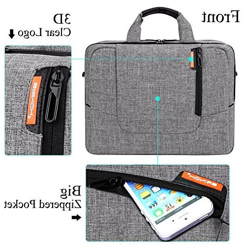 BRINCH 15.6 inch Computer Case Cover Shoulder Bag Side Detachable Laptop/Notebook / Netbook/Chromebook,Colour