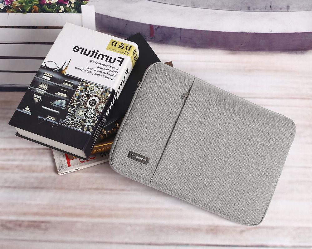 """Laptop Bag Case Pouch For 2018 Macbook Pro 13"""" 15"""" MBP"""