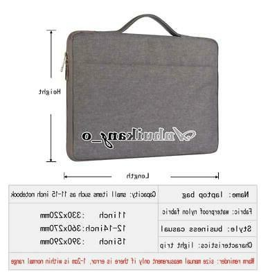 """Universal Carry Case Bag For 11"""" 12"""" 13"""" 14"""" 15"""""""