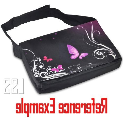 """LSS Compartment with Colorful Carrying 17"""" 17.3"""" Size Notebook"""