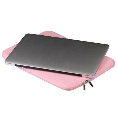 """Laptop Case Pouch Air/Pro 11/12/13/14/15.6"""" Pad"""