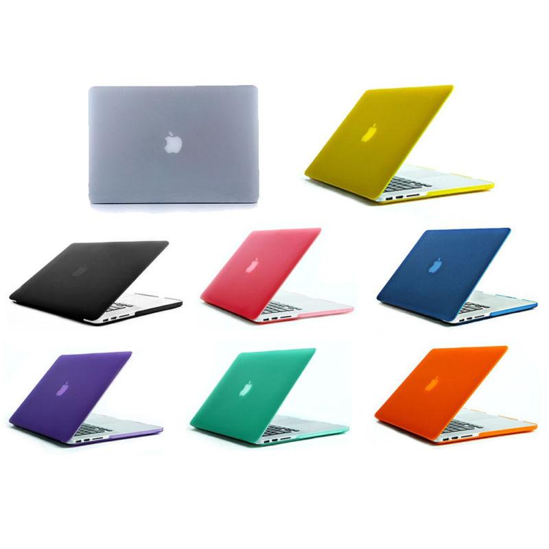 Laptop Rubberized Cover Case Hard Shell Snap-on Protective f