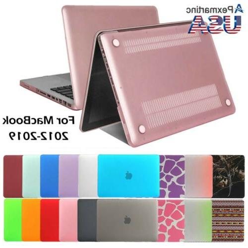 """Laptop Rubberized Hard Case Cover Shell for Mac Pro 13/15"""" A"""