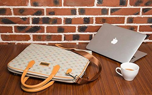 Malirona Inch Laptop Shoulder Bag Water Laptop for Inch Dell Chromebook Ultrabook Computer Case
