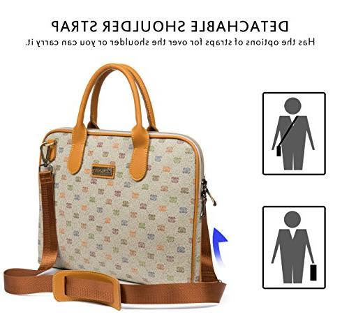 Malirona Shoulder Bag Laptop Case 15-15.6 Inch Lenovo Chromebook Carry Case
