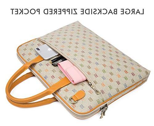 Malirona 15.6 Shoulder Water Laptop Case for Inch Dell Chromebook Ultrabook Case
