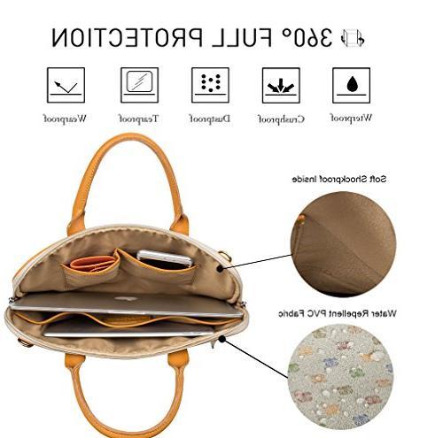Malirona Shoulder Bag Resistant Laptop Chromebook Carry Case