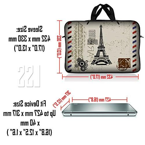 LSS 17 17.3 with HP, Sony, more Carrying Pouch w/Handle Shoulder