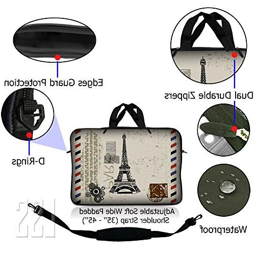 LSS inch Laptop with Asus, HP, more Pouch Shoulder Strap