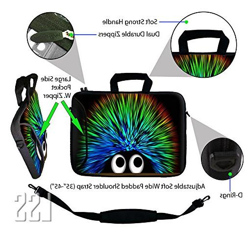 LSS 15.6 inch Laptop Sleeve Bag with Sony, and | Case w/ Handle Adjustable Shoulder