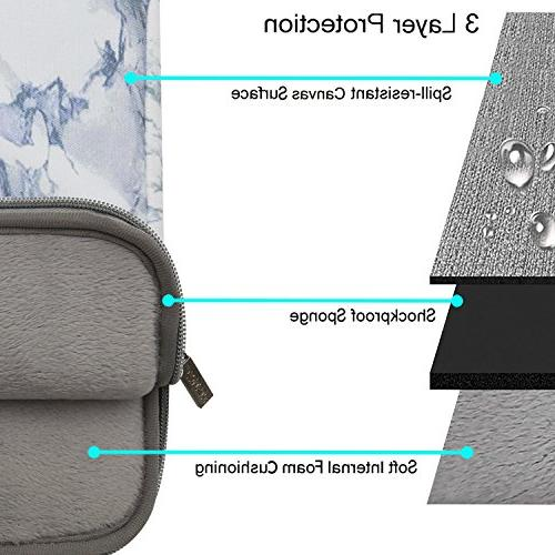 MOSISO Laptop Sleeve Compatible Pro Retina, MacBook Surface Laptop, Protective Cover,