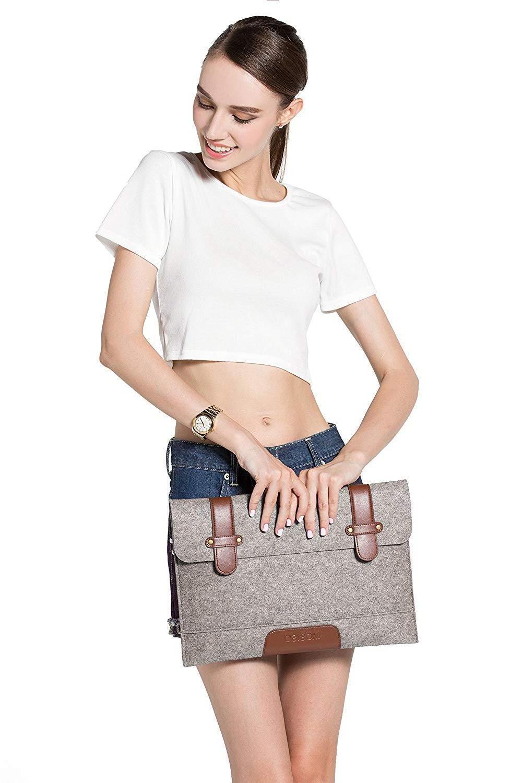 Mosiso Denim Bag Pocuh Bag for Macbook 11'' 15''