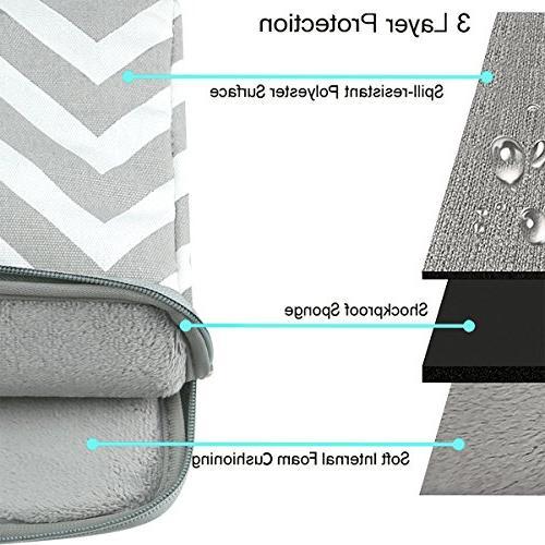 Mosiso Laptop Briefcase Handbag Inch MacBook Pro, Notebook Style Canvas Fabric Case