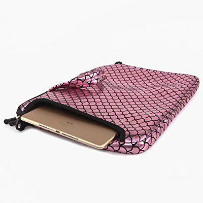 Laptop Sleeve Case Inch Shoulder Bag Mermaid Pinkn