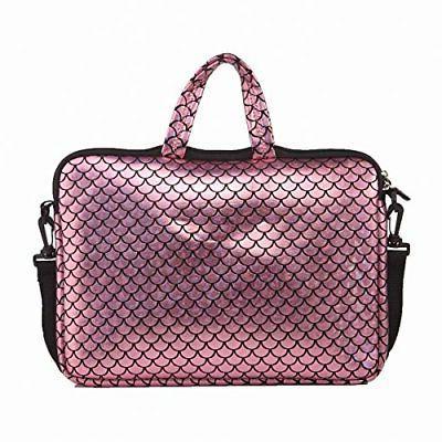 Laptop Case 14 Inch Bag Mermaid Slim Pinkn