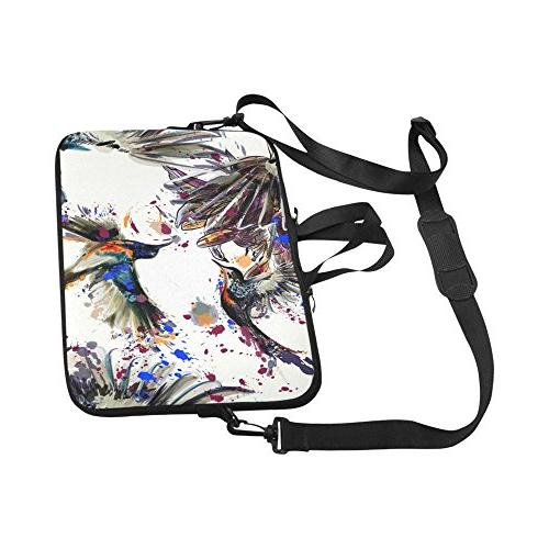 Laptop 15 15.2 Inch Lily And Birds Laptop Notebook Computer Bag