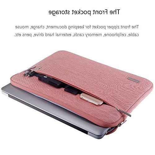"Lacdo Laptop Sleeve Case Old 13"" MacBook Pro Retina 2012-2015 | iPad Pro | Surface Book | HP Samsung Chromebook Bag,"