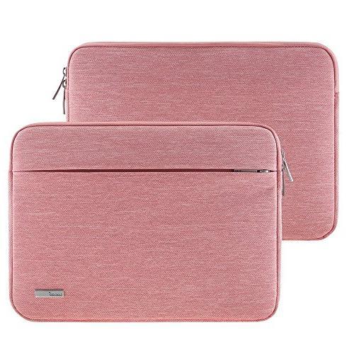 "Lacdo 13 Inch Sleeve Old MacBook 13"" iPad | Book | HP ASUS Samsung Lenovo Chromebook Pink"