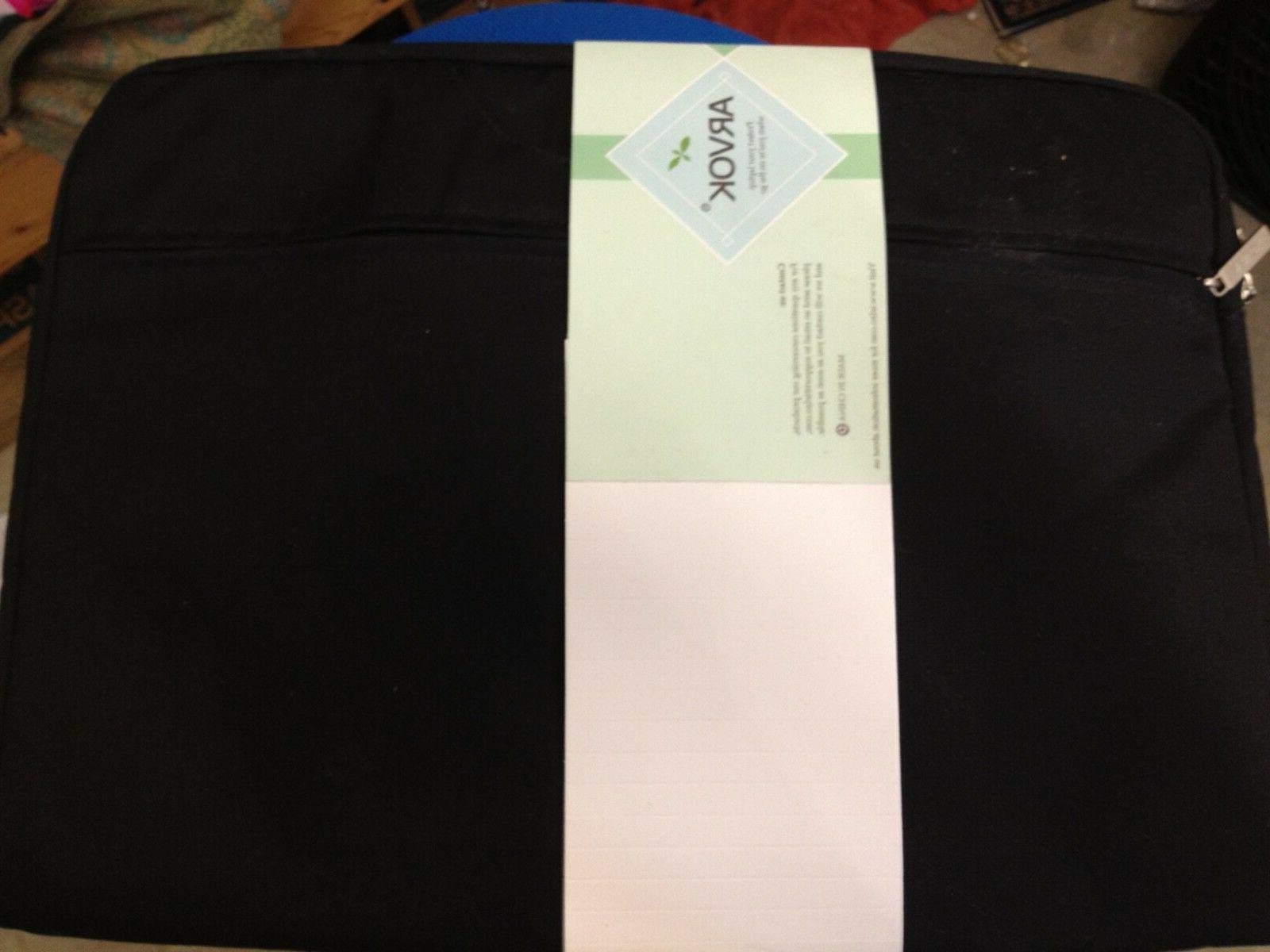laptop sleeve case black