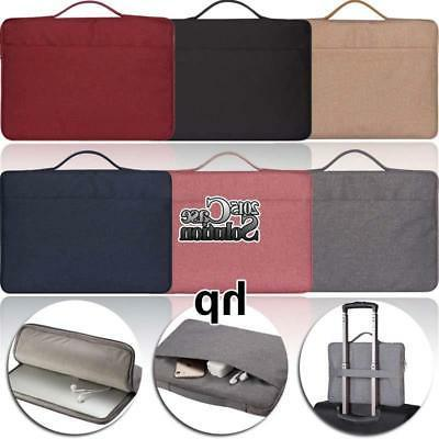 "Laptop sleeve Case Carry Bag Pouch For Various 10.1"" 11.6"" H"