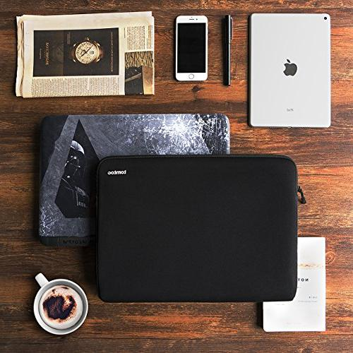 """tomtoc 14 Laptop Sleeve Bag for 14"""" Lenovo X1 Acer Chromebook Dell Latitude   15"""" MacBook Touch Bar Fit Smaller 13.75""""x9.48"""""""