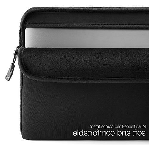 """tomtoc Sleeve Case Bag Fit for 14"""" X1   HP Chromebook   15"""" Touch A1990 Fit Laptop Smaller 13.75""""x9.48"""""""