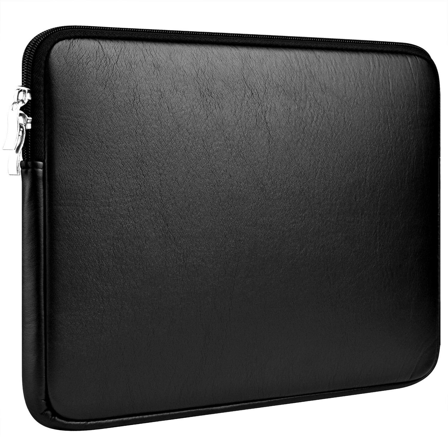 "Laptop Sleeve Case PU Leather For 15'' MacBook Pro 14"" Dell"