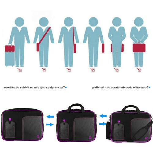 """VanGoddy Laptop Sleeve Shoulder Bag 15.6"""" HP ENVY x360/ ZBook"""