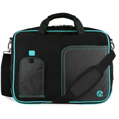 "VanGoddy Laptop Shoulder Messenger 15.6"" HP ENVY x360/ ZBook"
