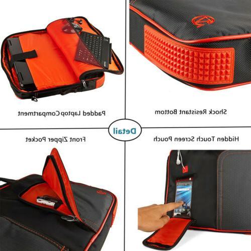 """VanGoddy Shoulder Messenger Bag For 15.6"""" HP x360/ ZBook"""