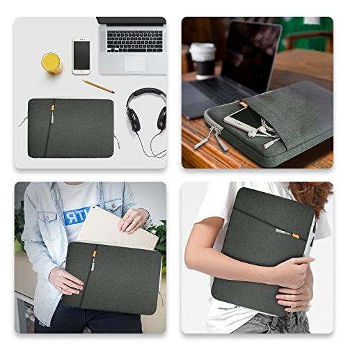 JETech 13.3-Inch Notebook Tab, Waterproof Bag Case Briefcase Air/Macbook 13'' MacBook Surface
