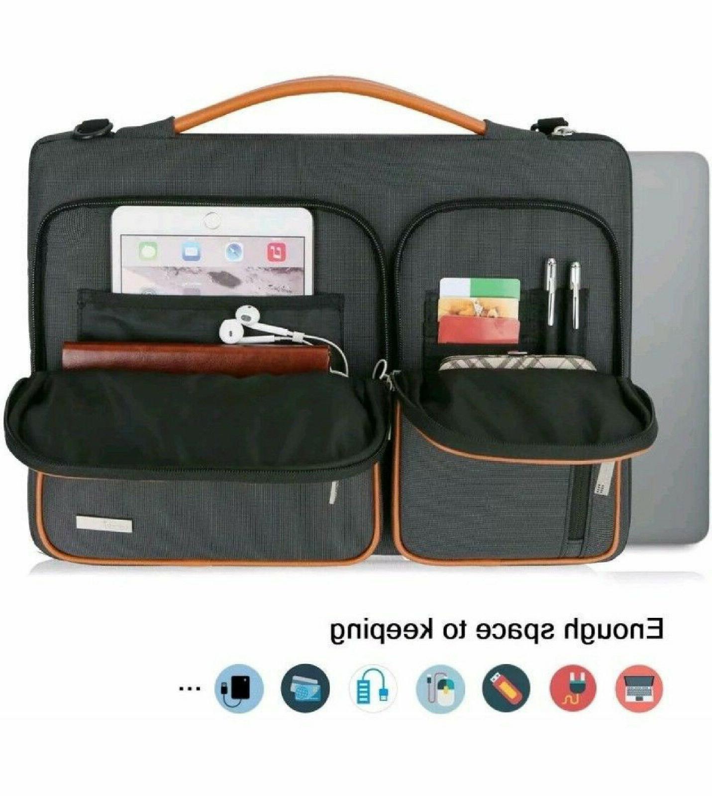 Lacdo Laptop Tablet Sleeve Bag SHOCKPROOF 4